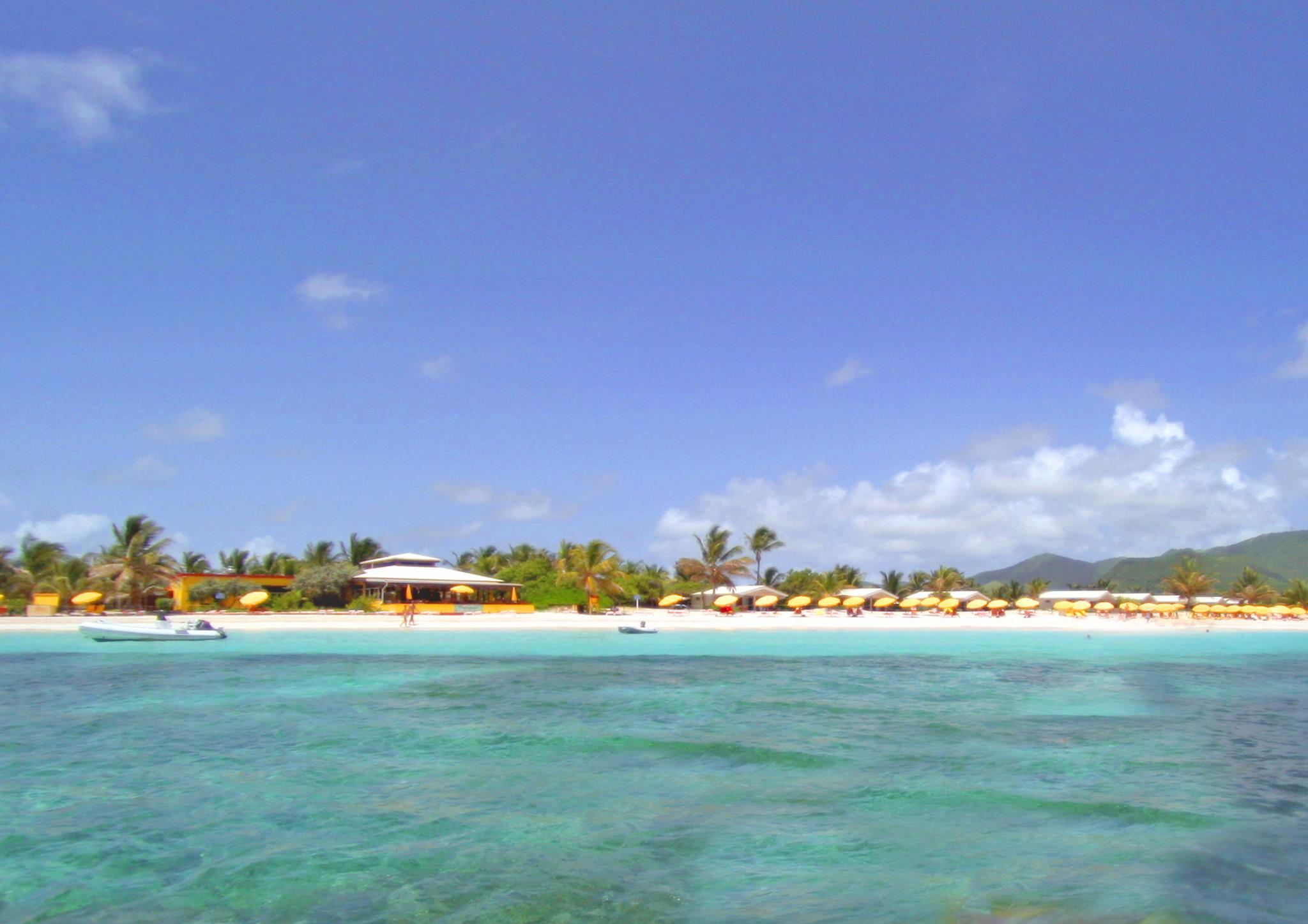 Fun things to do in St Martin incoude e clothing optional bathing at Orient Bay