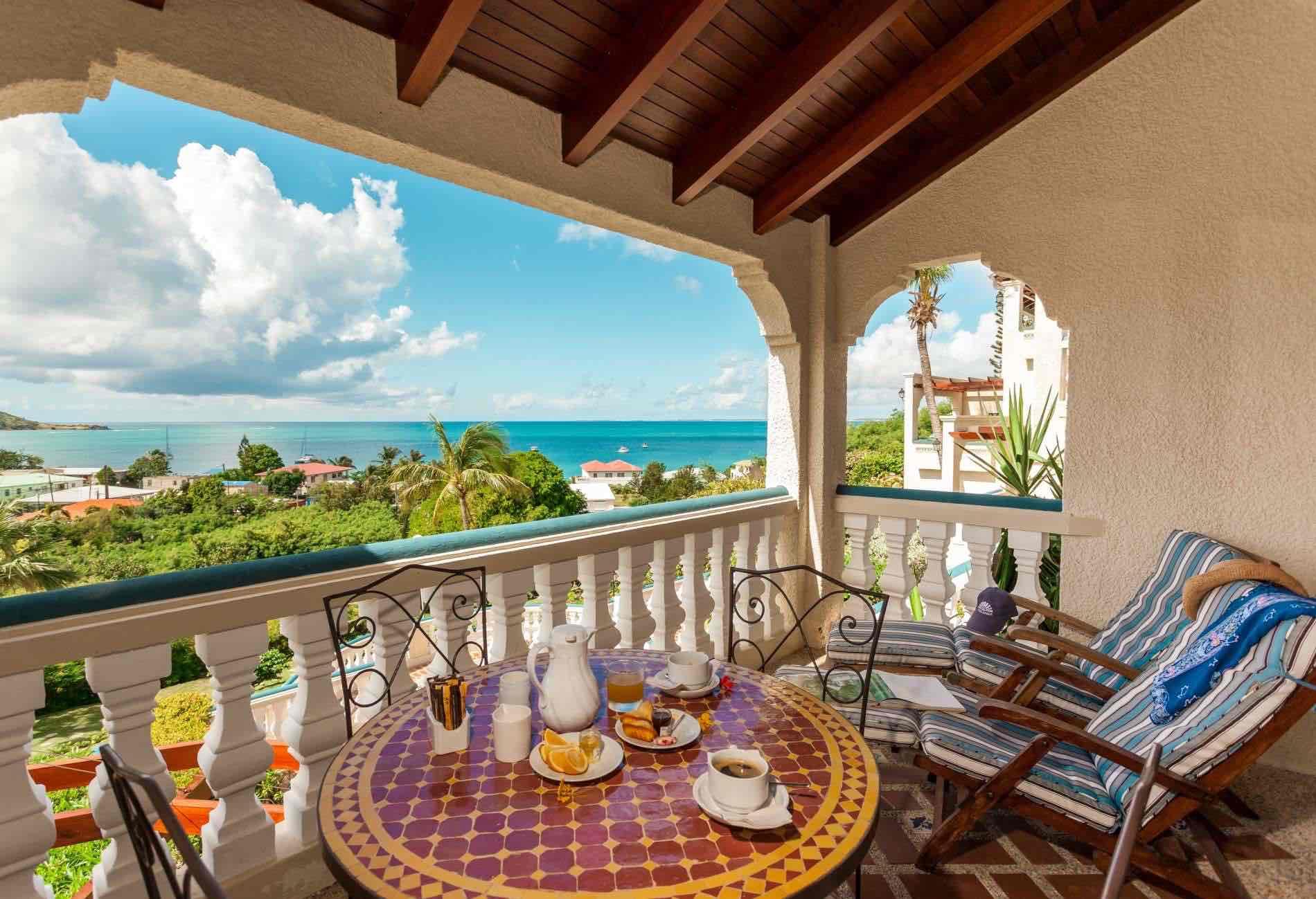 Balcony view from  Hotel L'Esplanade