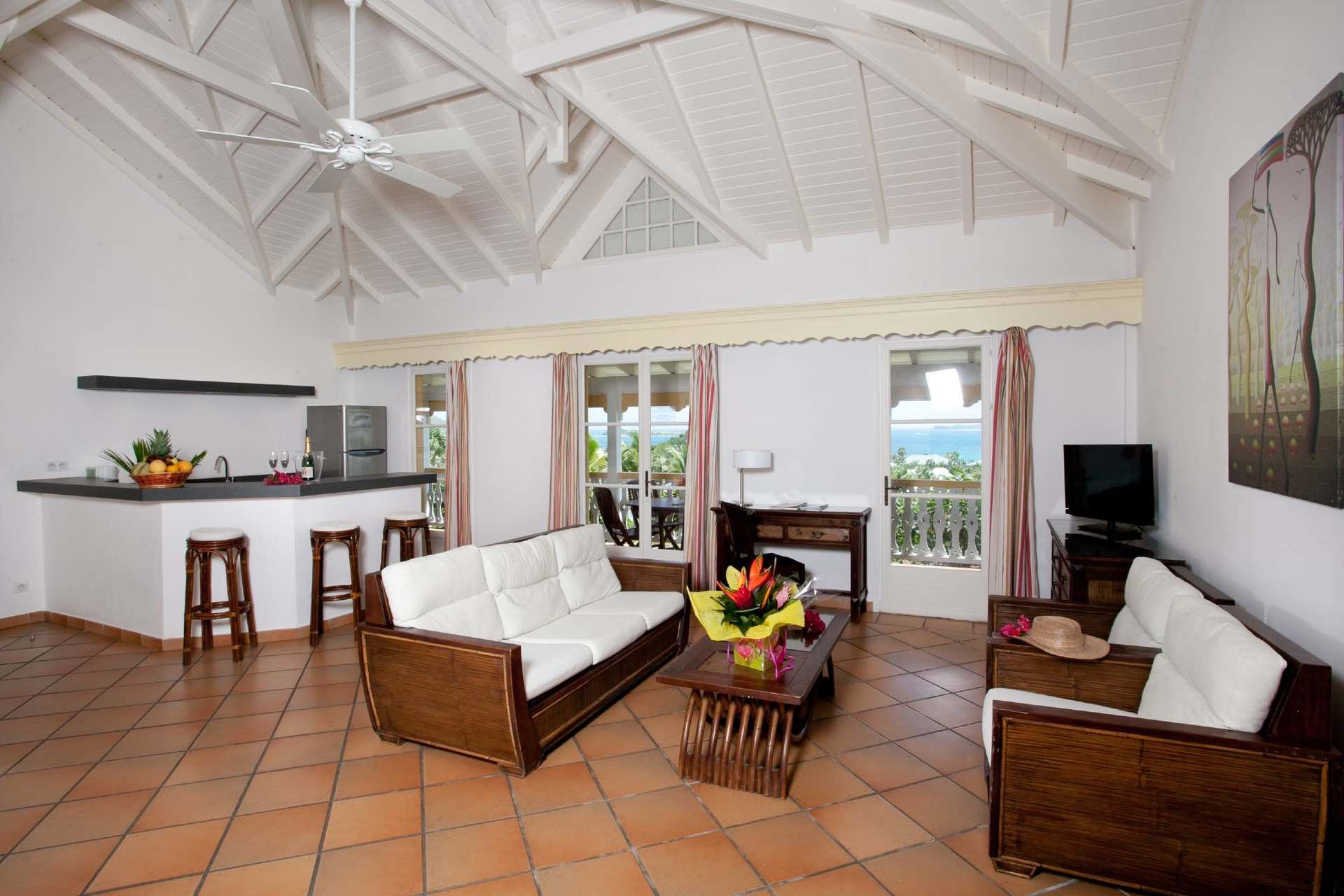 Room view of La Plantation one of the best boutique hotels in St Martin