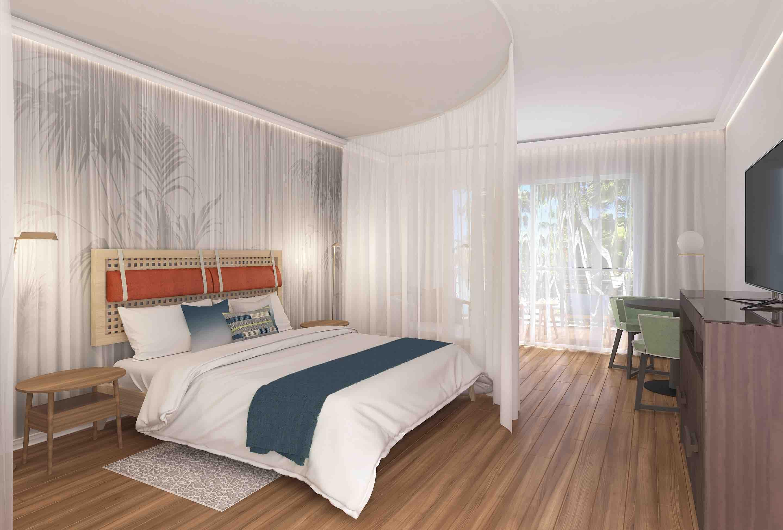 Secrets of St Martin Resort and Spa bedroom